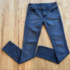 DL1961 Size 25 Amanda Grey Stretch Skinny Jeans